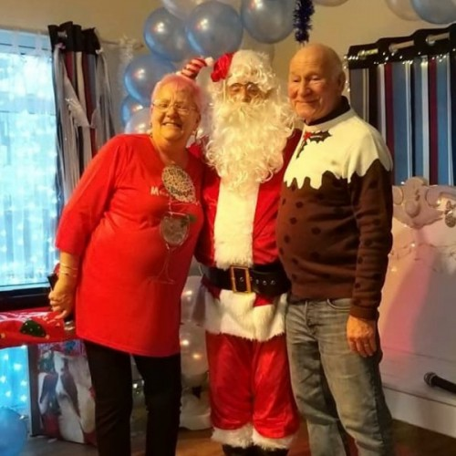 Over 60s Christmas Party With Santa